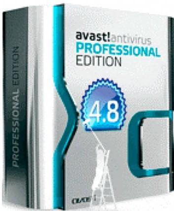 Avast AntiVirus 4.8.1169 professional edition ru(лицензия на 3012 дней